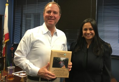 Nature Conservancy Presents Conservation Champion Award to Rep. Schiff!